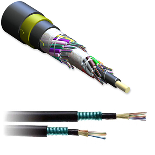 24-Fiber SOLO All Die Electric Self Supporting Cable