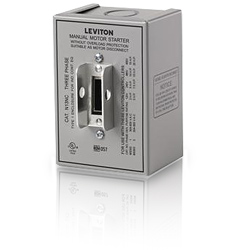 Leviton Enclosure with Safety Switches and Motor Controls