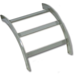 Hubbell NEXTFRAME Ladder Rack Inside Radius 90 Degree Turns