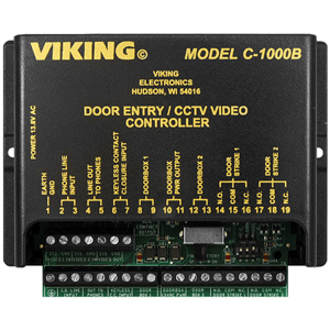 Two Door Entry and CCTV Camera Controller
