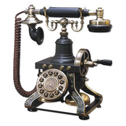 Paramount Eiffel Tower 1892 Reproduction Decorator Phone