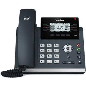 T42S Ultra Elegant Gigabit IP Desk Phone