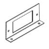RFB4 Shallow Steel Series Internal GFI Receptacle Bracket