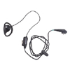 Earpiece with In-line Microphone and Push to Talk Button
