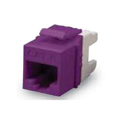 Allen Tel Cat 6 E-Z Jack, Purple