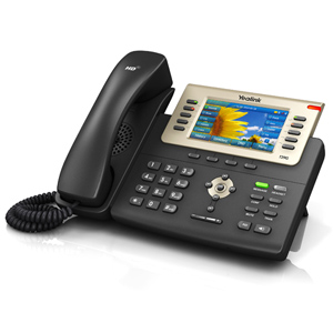 Professional Gigabit Phone with Color LCD