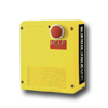 Yellow Emergency Wall Mount Phone with Lexan Enclosure