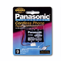 Panasonic Type 9 Cordless Replacement Phone Battery