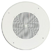 8 Inch Cone Loudspeaker Assembly with 6 oz. Magnet and Recessed Volume Control, Bright White