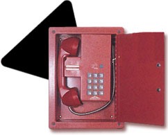 emergency phones, red phones, elevator phones, no dial phones