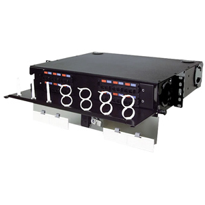 24- to 96-Port Rack Mount Interconnect Center, 2 RMS