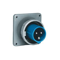 Hubbell 16A 240V 3 Wire Inlet