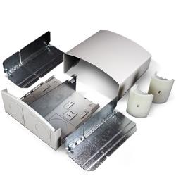 DS4000 Entrance-End-Fitting, Designer Gray