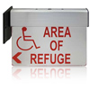 Lighted Double Sided Wall or Ceiling Mount Sign