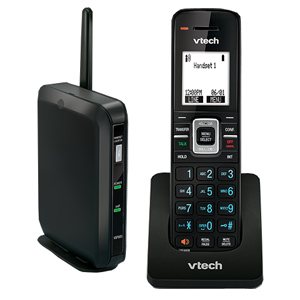 ErisTerminal SIP DECT Base Station and Cordless Handset