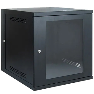 12 RMS Wall Mount Enclosure Cabinet with Plexiglass Door