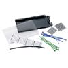 Fiber Splice Tray, 6 Mechanical or Fusion Splices