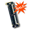 HiPerlink 1000 - Cat 5e Vertical Patch Panel - 12 Port