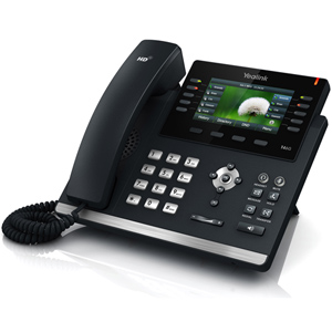 T46S Ultra Elegant Gigabit IP Desk Phone