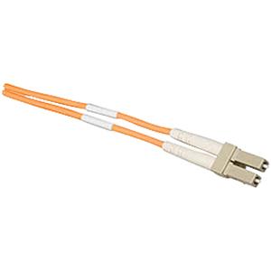 Allen Tel Duplex LC to LC MultiMode OM4 Fiber Optic Cable (2 Meter)