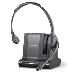Plantronics Savi W710 Over-the-Head Monaural Wireless Headset System (Standard)