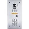 JK Series Flush Mount Vandal Resistant Color Video Door Station with Keypad