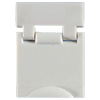 Colored Designation Shutters, Blank, Fog White (Package of 100)