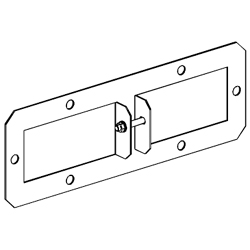 Legrand - Cablofil Center Spine Tray-To-Box Connector for 3