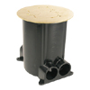 881 Series Ratchet-Pro Multi-Service Round Floor Box