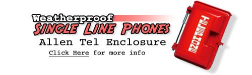 Weatherproof Telephone Enclosure