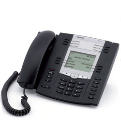 Aastra 63735i HD Audio and Dual GigE in an Expandable IP Telephone
