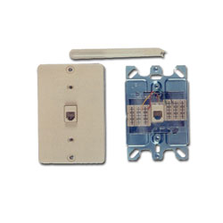 Allen Tel Wall Phone Jack - 110 Termination