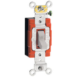 Leviton Single-Pole Toggle Back and Side Wired