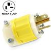 20Amp 250V 2-Pole, 3-Wire Industrial Grade Plug