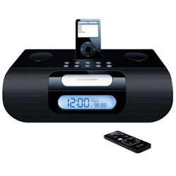 jWIN Electronics iLuv Stereo Radio Alarm Clock with iPod Docking