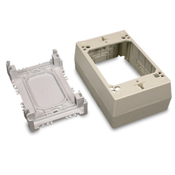 Legrand - Wiremold Eclipse™ PN03, PN05, PN10 Series One-Gang Power Box