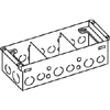 880W3 Series Three-Gang Steel Floor Box