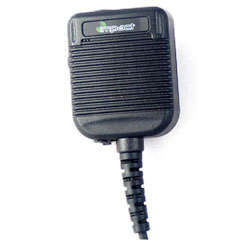 Impact Radio Accessories IP68 Public Safety Grade Speaker Microphone with Hi/Lo Volume for MC2