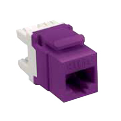 Allen Tel Cat 5e E-Z Jack, Purple