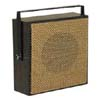 Light Brown Open-Weave Grille Talkback Corridor Speaker