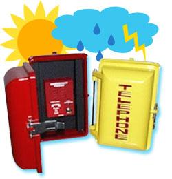 weatherproof phones, allen tel phones, emergency phones, no dial phones