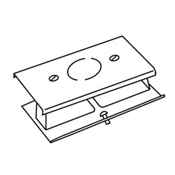 Legrand - Wiremold 3000® Series Blank Cover