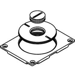 Modulink 880MP Communications Cover Plate with 2 5/8