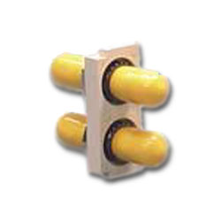 Hubbell ST-style couplers SM/MM