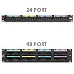 Leviton 24/48-Port Voice Grade Patch Panel
