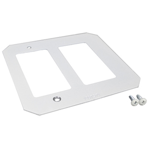 Evolution™ 8AT Series Crestron Double Gang Plate