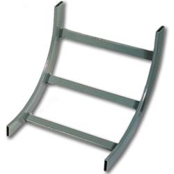 Hubbell NEXTFRAME Ladder Rack Outside Radius 90 Degree Turn