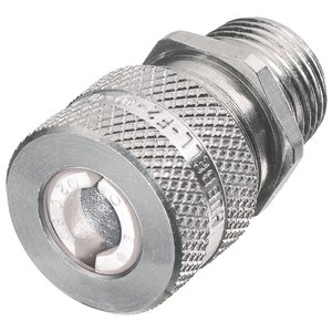 SHC Machined Aluminum Male Cord Connector