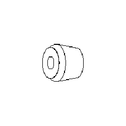 Hubbell Replacement Bushings (Package of 100)