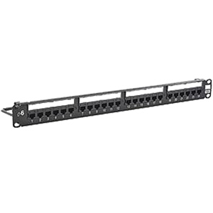 Hubbell NextSpeed Cat6 Patch Panel without Cable Management Bar